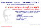 Memoriál Míly Dlabače a oslava 100 let dobrovolných hasičů  2